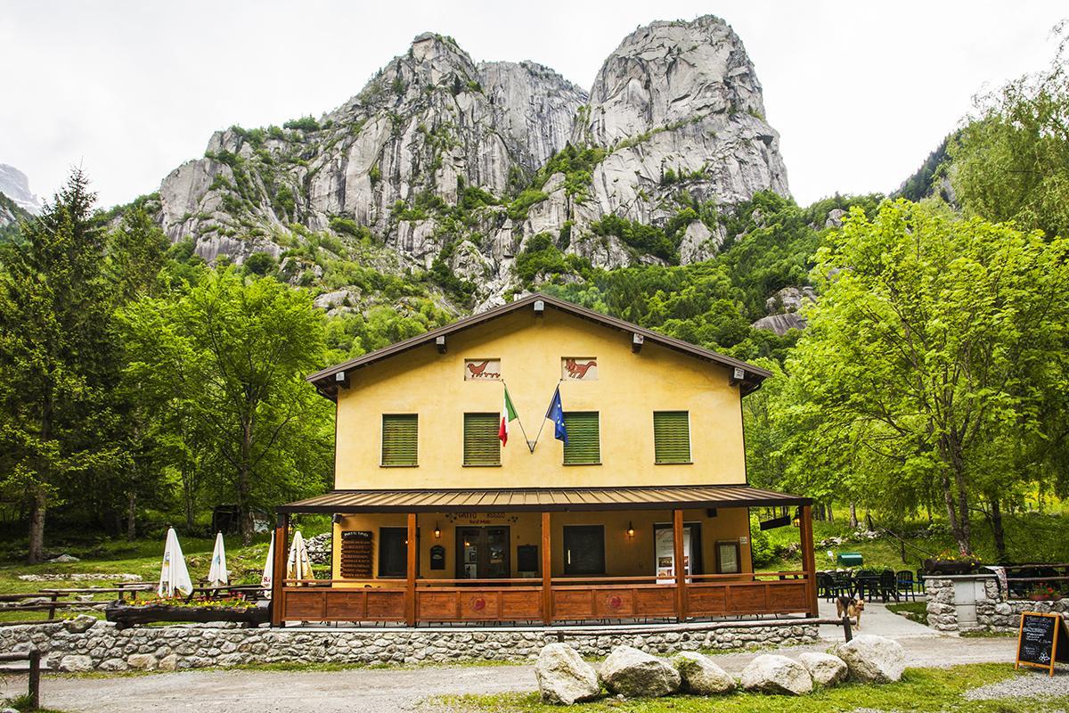 Trattoria Gatto Rosso Hotel Miramonti Val Masino